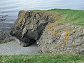 Cliffs near Ynys Fawr - geograph.org.uk - 1289992.jpg