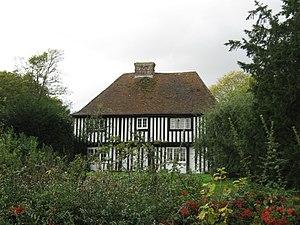 Grade II* listed buildings in Ashford (borough) - Image: Cobbs Hall Aldington Kent Geograph 2117504 by David Anstiss