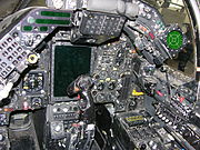 Cockpit of Jaguar GR.3A