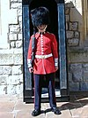 Coldstream Guardsman at the Tower of London.JPG