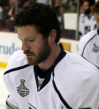 Colin Fraser (ice hockey) - Fraser during the 2012 Stanley Cup Finals.