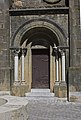 Collégiale St Pierre et St Gaudens-Porche ouest.jpg
