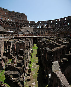 Colosseum Level 1 Vertical Panorama.jpg