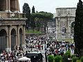 Colosseum area overview, Rome, Italy (9611395742).jpg
