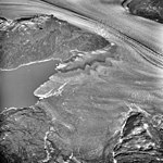 Columbia Glacier, Billy's Hole, Valley Glacier and Calving Distributary, August 25, 1969 (GLACIERS 1033).jpg