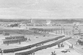 1814 battle in Europe