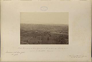 Panorama da Serra Grande do Pão de Assucar tirada do morro do Cavallete - 2a parte
