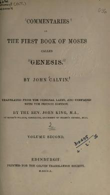 Commentaries on Genesis (Calvin) Vol 2.djvu