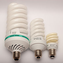 Awesome Comparison Of Compact Fluorescent Lamp With 105 W, 36 W, And 11 W Power  Consumption