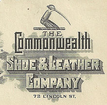 Company logo of Commonwealth Shoe & Leather March 3, 1911.JPG