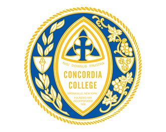 Concordia College (New York) - Seal of Concordia College