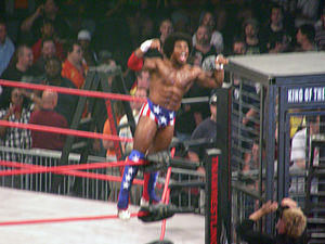 Xavier Woods - Creed at Slammiversary 2009