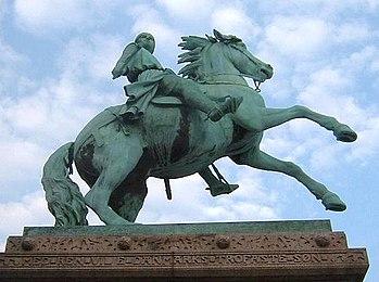 Statue of Absalon in Copenhagen
