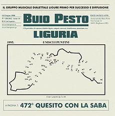 Copertina del disco Liguria