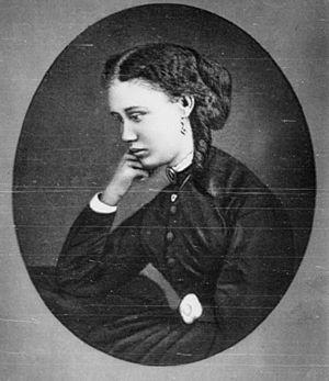 Fabre Geffrard - Cora Geffrard, daughter of President Geffrard of Haiti assassinated in 1859.