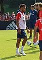 Corentin Tolisso Training 2019-09-01 FC Bayern Muenchen-5.jpg