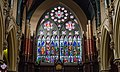 Cork SS Peter and Paul's Church West Window and Organ 2017 08 25.jpg