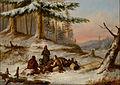 Cornelius Krieghoff - Moose Hunters - Google Art Project.jpg