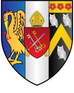 Corpus-Christi College Oxford Coat Of Arms.svg