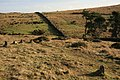 Corringdon Ball stone row - geograph.org.uk - 1617789.jpg