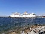Costa neoRomantica port side Port of Tallinn 2 July 2014.jpg
