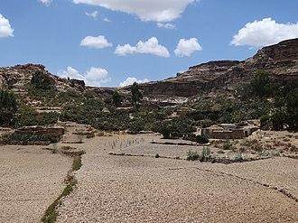 Saesi Tsaedaemba - Image: Countryside near Teka Tesfai Ethiopia 02 (8714484774)