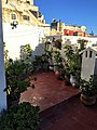 Courtyard in the roof or the traditional Moroccan house 'riad'.jpg