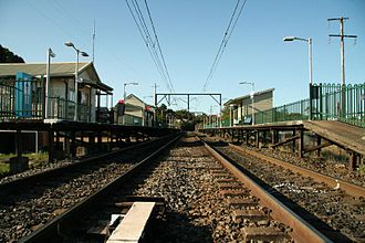 Central Coast & Newcastle Line - Cowan railway station