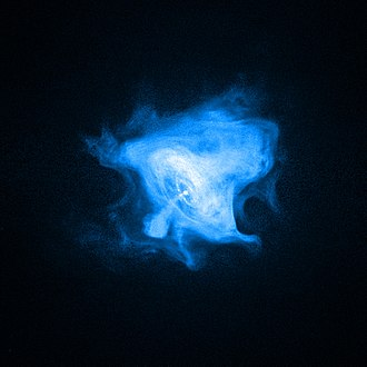 Crab Pulsar - X-ray picture of Crab Nebula, taken by Chandra.