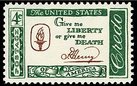 Credo Liberty or Death