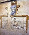 Cripta di san lorenzo (salone donatello), stemma boldrini.JPG