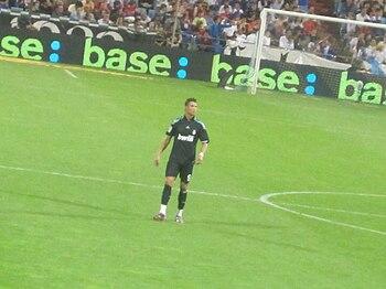 Cristiano Ronaldo en La Romareda 2