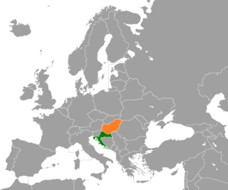 Diplomatic relations between the Republic of Croatia and Hungary