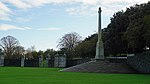 Cross of Sacrifice in the Irish National War Memorial Park.jpg