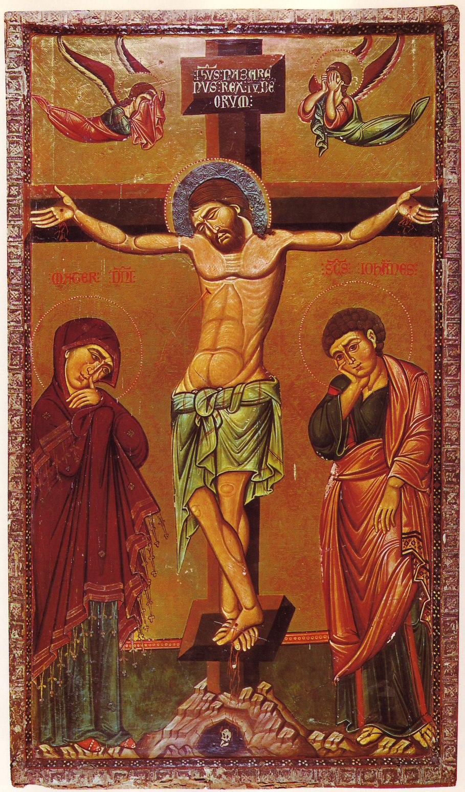 Crucifixion Icon Sinai 13th century