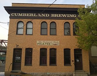 History of Cumberland, Maryland - Cumberland Brewing Company Brewery