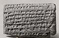 Cuneiform tablet- account of flax deliveries, Ebabbar archive MET ME86 11 210.jpg