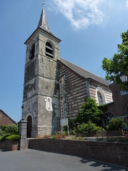 Curgies (Nord, Fr) église 01