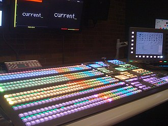 Vision mixer - Ross Video Vision 4 at Current TV