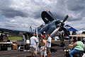Curtiss SB2C-5 Helldiver BuNo 83589 NX92879 RFront SNF 16April2010 (14444022117).jpg