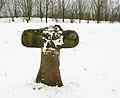 Cyriaxweimar Steinkreuz von NW.JPG