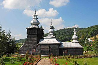 Czarna, Lesser Poland Voivodeship - Greek Catholic church