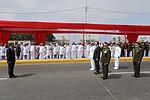 DESTACAN LABOR DE LAS FUERZAS ARMADAS EN CEREMONIA POR 150 ANIVERSARIO DE COMBATE DEL 2 DE MAYO (26779137595).jpg