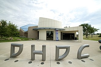 Don Harrington Discovery Center - Image: DHDC Front Entrance