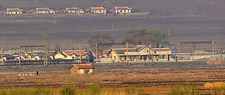 Kangalli Station railway station in North Korea