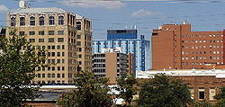 Skyline of City of Wichita Falls