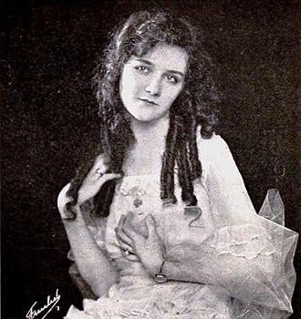 Mary Philbin - Mary Philbin in Danger Ahead (1921)
