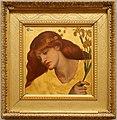 Dante gabriel rossetti, sancta lilias, 1874.jpg