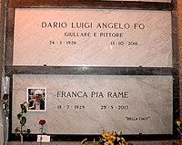 Dario Fo Franca Rame Grave.JPG