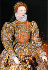 Portrait of Queen Elizabeth the first